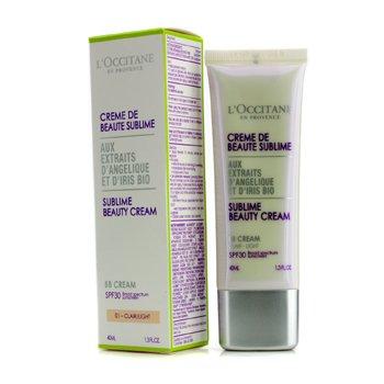 L'OccitaneSublime Beauty Cream SPF 30 - Clair/Light (Exp. Date 04/2015) 40ml/1.3oz