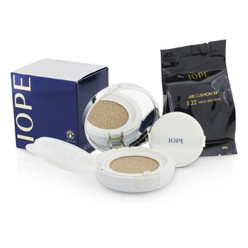 IOPE Air Cushion XP SPF50 With Extra Refill – # S22 (Ice Shimmer Beige) 2x15g/0.525oz