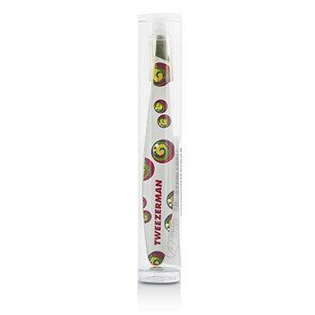Tweezerman Mini Slant Tweezer (Rainbow Lollipop Swirl) – White –