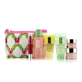 Clinique������ �����: ����� ���� + ���� ���� #3 + DDMG + Moisture Surge + All About Eyes + ���� Chubby #5 + ����� 6pcs+1bag