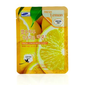 3W Clinic Mask Sheet - Fresh Lemon 10pcs