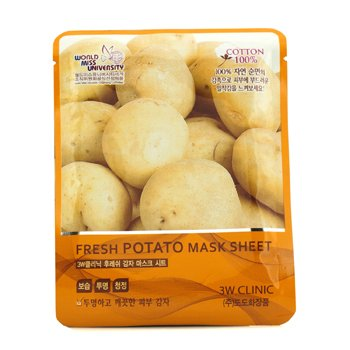 3W Clinic Mask Sheet - Fresh Potato 10pcs