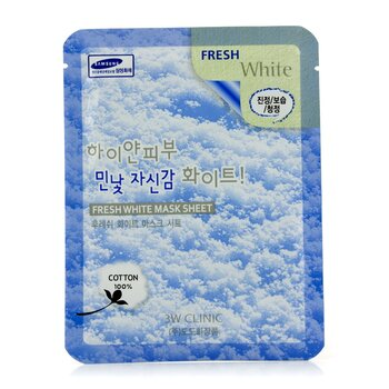 Image of 3W Clinic Mask Sheet - Fresh White 10pcs