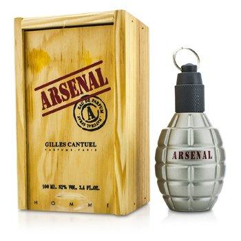 Gilles GantuelArsenal Grey Eau De Parfum Spray 100ml/3.4oz