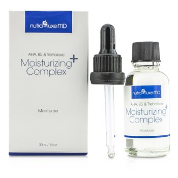 Nutraluxe MD Complejo Humectante - AHA, B5 & Trehalose  30ml/1oz