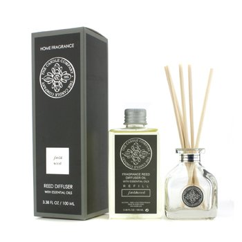 The Candle Company Reed Diffuser with Essential Oils – Sandalwood 100ml/3.38oz