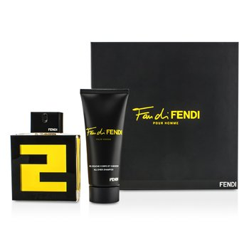 Fendi Fan Di Fendi Pour Homme Coffret: Eau De Toilette Spray 100ml/3.3oz + Champ� Para Todo 100ml/3.3oz  2pcs