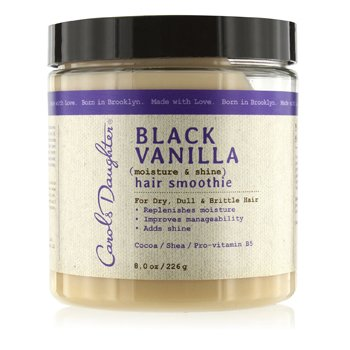 Carol's DaughterBlack Vanilla Moisture & Shine Hair Smoothie (For Dry, Dull & Brittle Hair) 226g/8oz