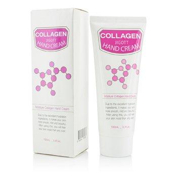Jigott Hand Cream - Moisture Collagen 100ml/3.4oz