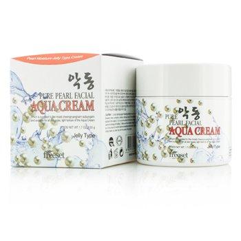 Freeset Aqua Cream (Moisture Jelly Type) - Pure Pearl  50g/1.7oz