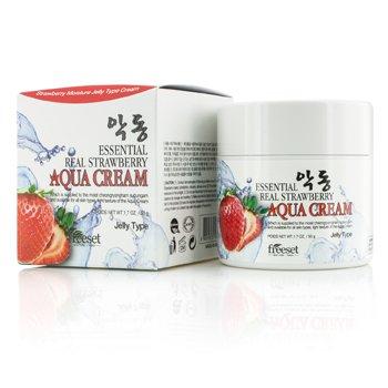 Freeset Aqua Crema (Tipo Jalea Humectante) - Essential Real Strawberry  50g/1.7oz