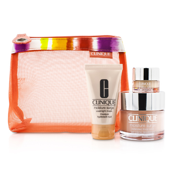 CliniqueMoisture Favourites �����: Moisture Surge 50�� + Moisture Surge ����� 30�� + All About Eyes 5�� + ����� 3pcs+1bag