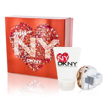 DKNY My NY The Heart Of The City Набор: Парфюмированная Вода Спрей 50мл/1.7унц + Лосьон для Тела 100мл/3.4унц 2pcs