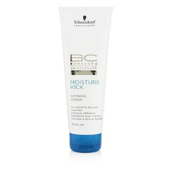 SchwarzkopfBC Moisture Kick Defining Cream (For Normal to Dry and Curly Hair) 125ml/4.2oz