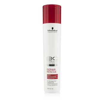 SchwarzkopfBC Repair Rescue Deep Nourishing Shampoo (For Damaged Hair) 250ml/8.4oz