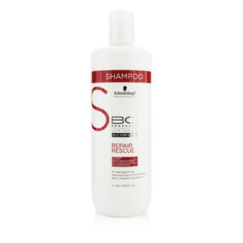 SchwarzkopfBC Repair Rescue Deep Nourishing Shampoo (For Damaged Hair) 1000ml/33.8oz