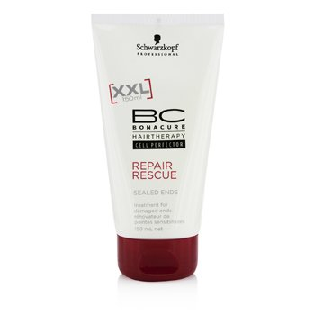 SchwarzkopfBC Repair Rescue Sealed Ends Treatment - For Damaged Ends (New Packaging) 150ml/5oz
