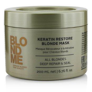 SchwarzkopfBlondme Keratin Restore Blonde Mascarilla (Para Todos los Rubios Repara & Sella) 200ml/6.76oz