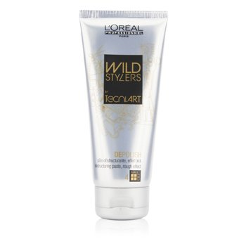 L'Oreal Professionnel Wild Styles by Tecni. Art Depolish Destructuring Paste (Rough Effect) 100ml/3.3oz