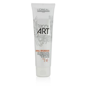 L'OrealProfessionnel Tecni.Art Spiral Splendour Nutri-Control Cream (For Dry Curly Hair) 150ml/5oz