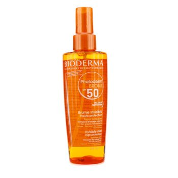 Bioderma Photoderm Bronz Invisible High Protection Spray SPF50 (For Sensitive Skin)  200ml/6.7oz