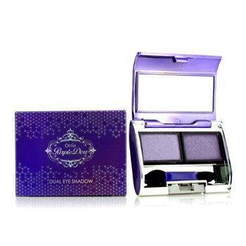Ottie Purple Dew Dual Eye Shadow - #01 Purple Pop 2x3.5g/0.12oz
