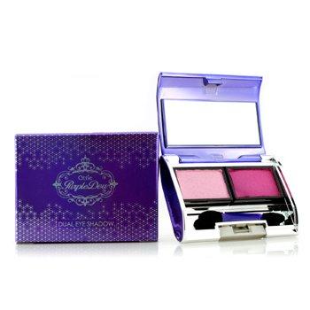 Ottie Purple Dew Dual Eye Shadow - #02 Kiss Pink 2x3.5g/0.12oz