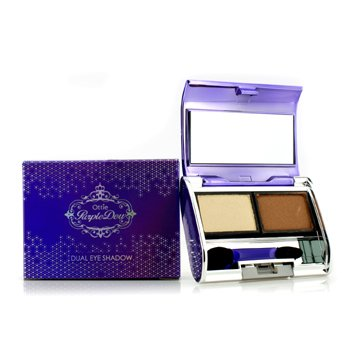 Ottie Purple Dew Dual Eye Shadow – #03 Gold Scandal 2×3.5g/0.12oz