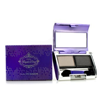 Ottie Purple Dew Dual Eye Shadow – #04 Gray Smog 2×3.5g/0.12oz