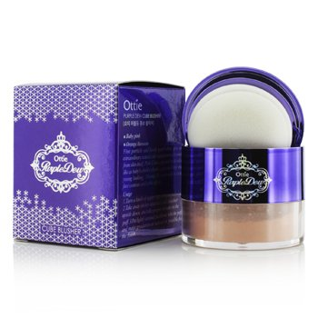 Ottie Purple Dew Cube Blusher – #02 Orange Blossom 12g/0.4oz