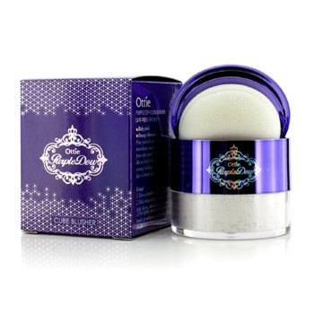 Ottie Purple Dew Cube Blusher - #03 Pearl Highlighter 12g/0.4oz