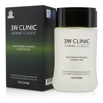 3W Clinic Homme Classic - Moisturizing Freshness Essential Skin 150ml/5oz