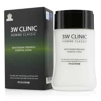 Image of 3W Clinic Homme Classic - Moisturizing Freshness Essential Lotion 150ml/5oz