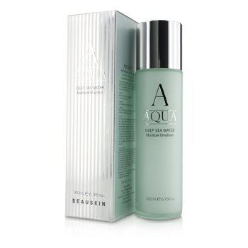 Aqua Deep Sea Water õ×ÌÁÖÎÑÀÝÁÑ üÍÕÌØÓÉÑ BEAUSKIN Aqua Deep Sea Water Увлажняющая Эмульсия 200ml/6.76oz
