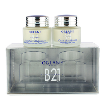 OrlaneB21 High Performance Moisturiztion: 1x Nurturing Care 50ml, 1x Concentrate 50ml (For Dry & Very Dry Skins) 2pcs