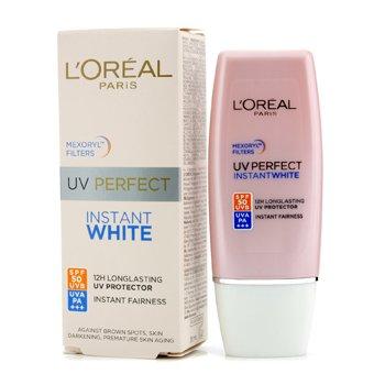 L'OrealCreme Protetor Solar UV Perfect Instant White SPF 50 30ml/1oz