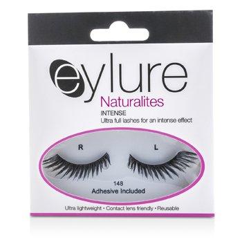 Eylure Naturalites False Lashes - 148 Intense Black (Adhesive Included) 1pair