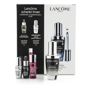 LancomeGenifique Advanced Set: Genifique Advanced Concentrate 30ml & 7ml + Genifique Yeux Light-Pearl 5ml + DreamTone #1 Fair 5ml 4pcs