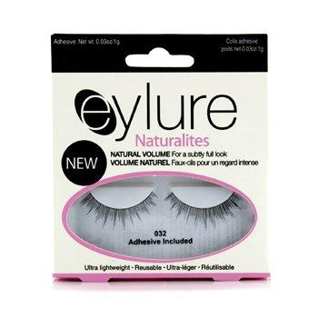 Eylure Naturalites False Lashes - 032 Natural Volume Black (Adhesive Included) 1pair