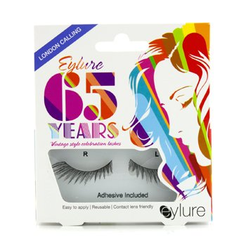 Eylure 65th Anniversary False Lashes - London Calling (Adhesive Included) 1pair