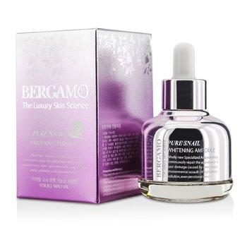 Bergamo Pure Snail Whitening Ampoule (For All Skin Types) 30ml/1oz