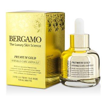 Bergamo Premium Gold Wrinkle Care Ampoule (For All Skin Types) 30ml/1oz