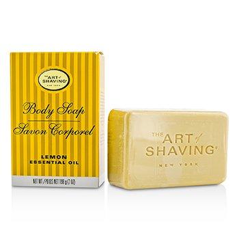 The Art Of ShavingJab�n Corporal - Lemon Essential Oil 198g/7oz