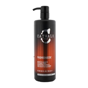 TigiCatwalk Fashionista Brunette Shampoo (For Warm Tones) 750ml/25.36oz