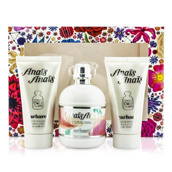 Cacharel Anais Anais L'Original Coffret: Eau De Toilette Spray 100ml/3.4oz + 2x Body Lotion 50ml/1.7oz  3pcs