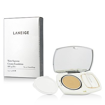 Laneige Water Supreme Base Cremosa Con SPF 30 - # 21N Natural Beige  12g/0.4oz