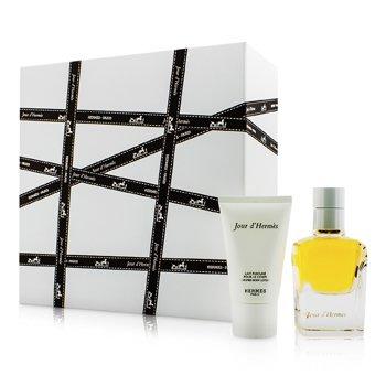 HermesJour D'Hermes Coffret: Eau De Parfum Spray 50ml/1.6oz + Loci�n Corporal 30ml/1oz 2pcs