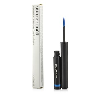 Shu UemuraMetal Ink Liquid Eye Liner - #Me Blue 1.4ml/0.04oz