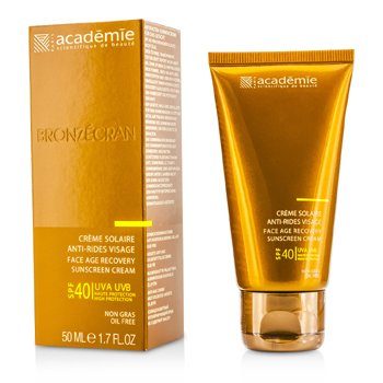 AcademieScientific System Face Age Recovery Sunscreen Cream SPF40 50ml/1.7oz