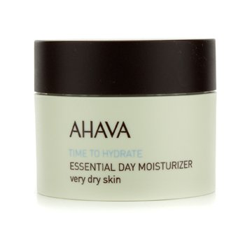 Ahava Time To Hydrate Essential Day Moisturizer (Very Dry Skin  Unboxed) 50ml/1.7oz